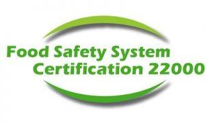 certificado FSSC 22000 Aguas de San Joaquin